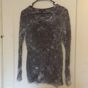 Almost Famous Lace Shirt Size L